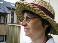 molly in a bioregional hat
